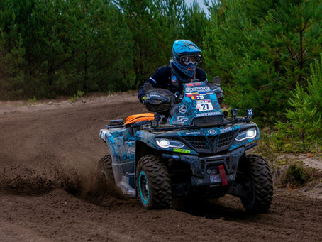 The remaining CFMOTO Factory Racing Team fights for the podium