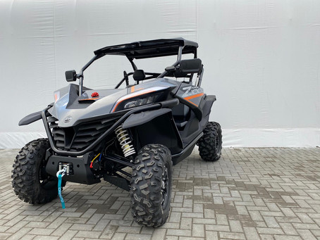 "The new ""ZFORCE 1000 SPORT"" moto buggy has reached the ""CFMOTO Factory Racing Team"" workshop."