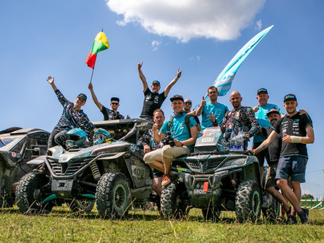 Rally Albania's wound are healing and CFMOTO Racing Team prepares for Breslau rally