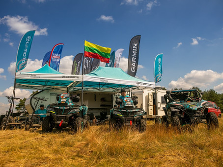 The CFMOTO Racing Team, which has arrived in Poland, is preparing for the start in Breslau rally