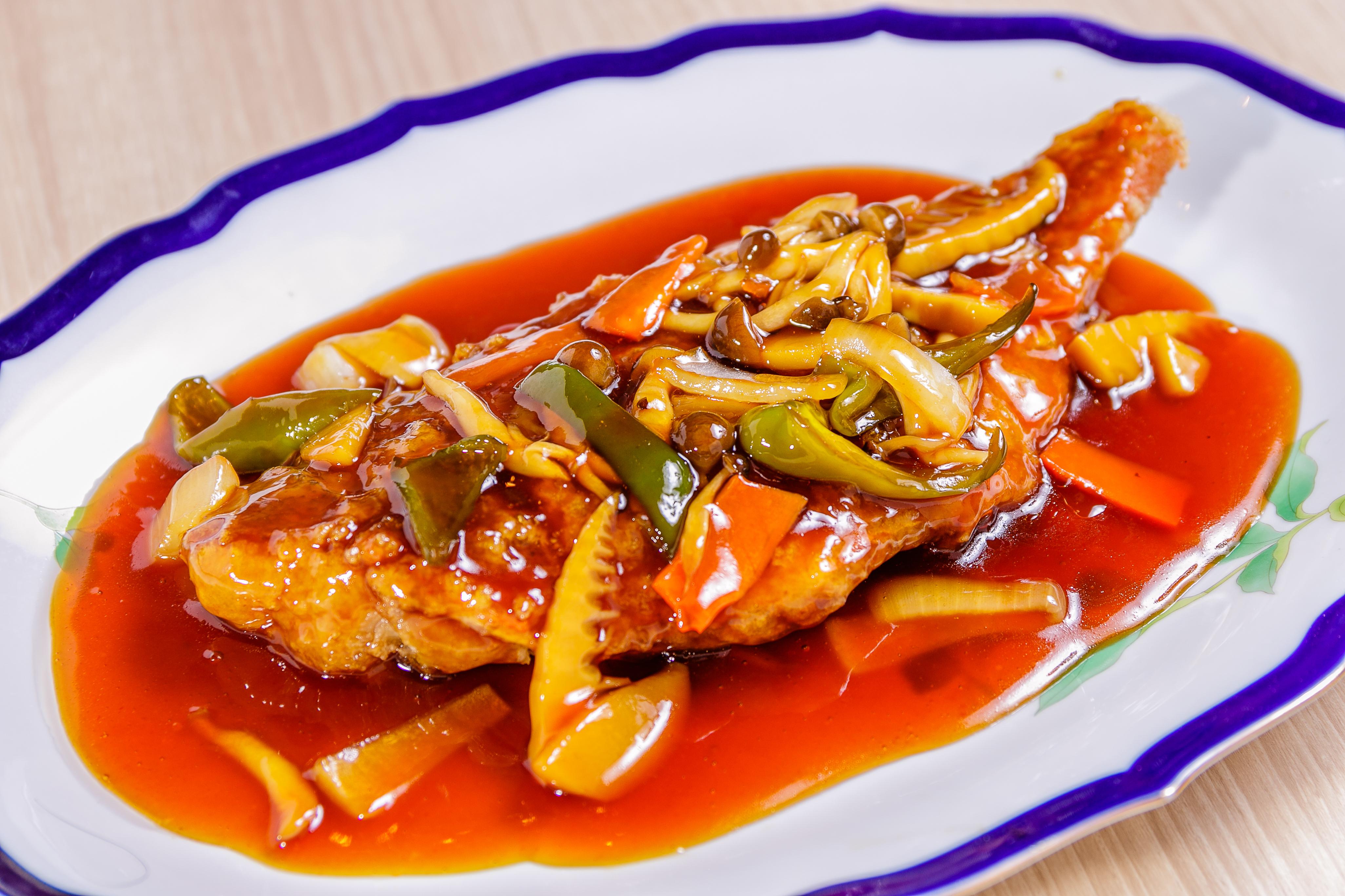 赤魚の中華あんかけ