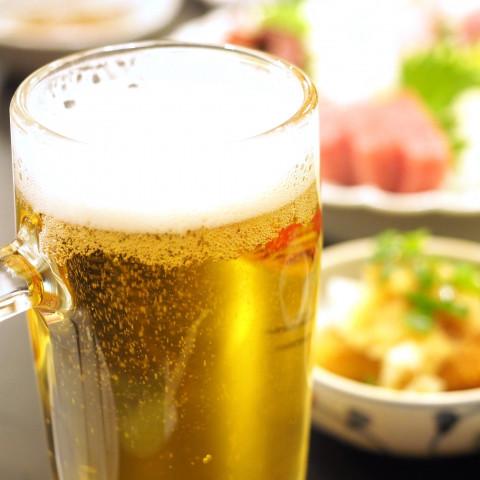 銀禅 ビール 飲み放題