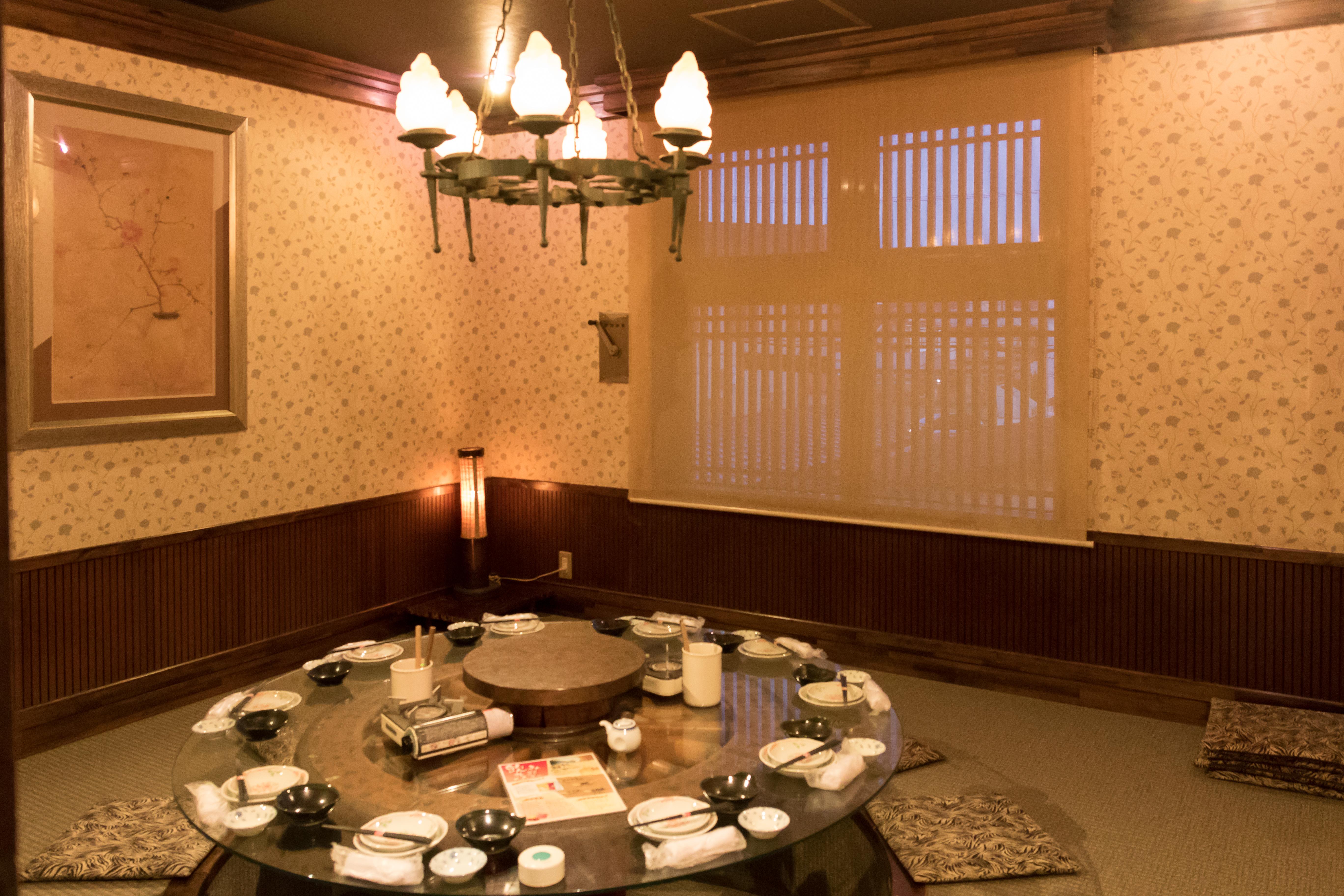 銀禅(ぎんぜん)都南店個室