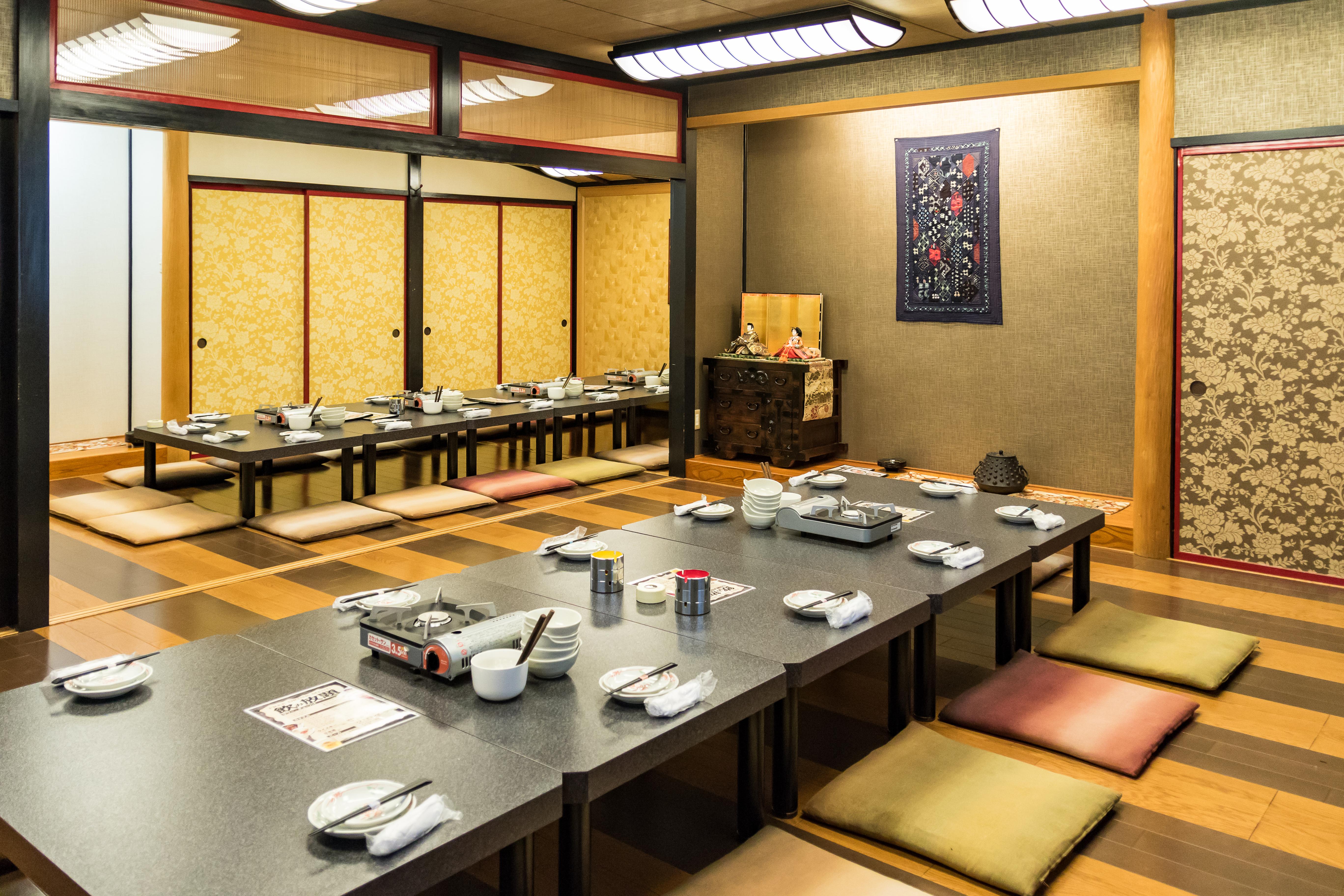 銀禅(ぎんぜん)矢巾店宴会場