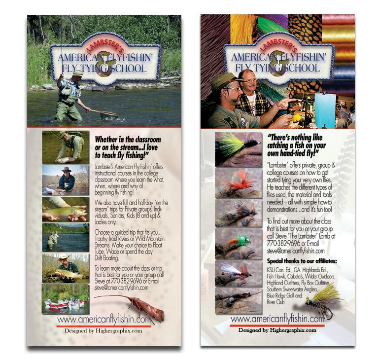 American Fly Fishing brochure