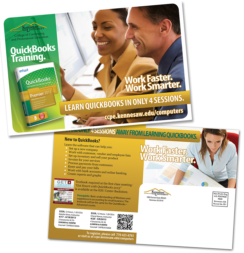 New QuickBooks Postcard