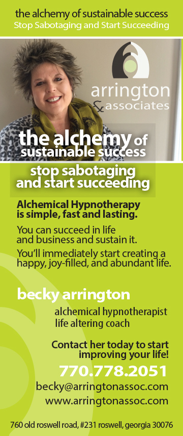 Arrington and Associates ad 2015