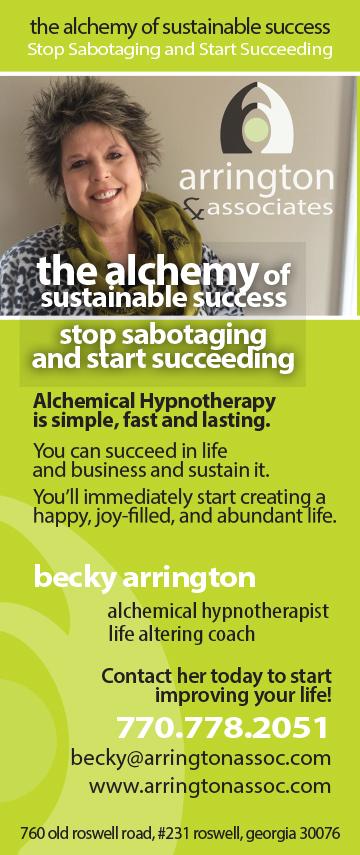Arrington and Associates ad 2015