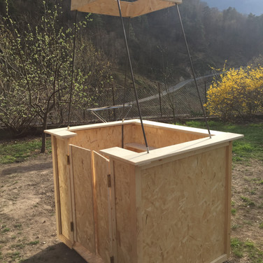basket for fake advertising hot air balloon