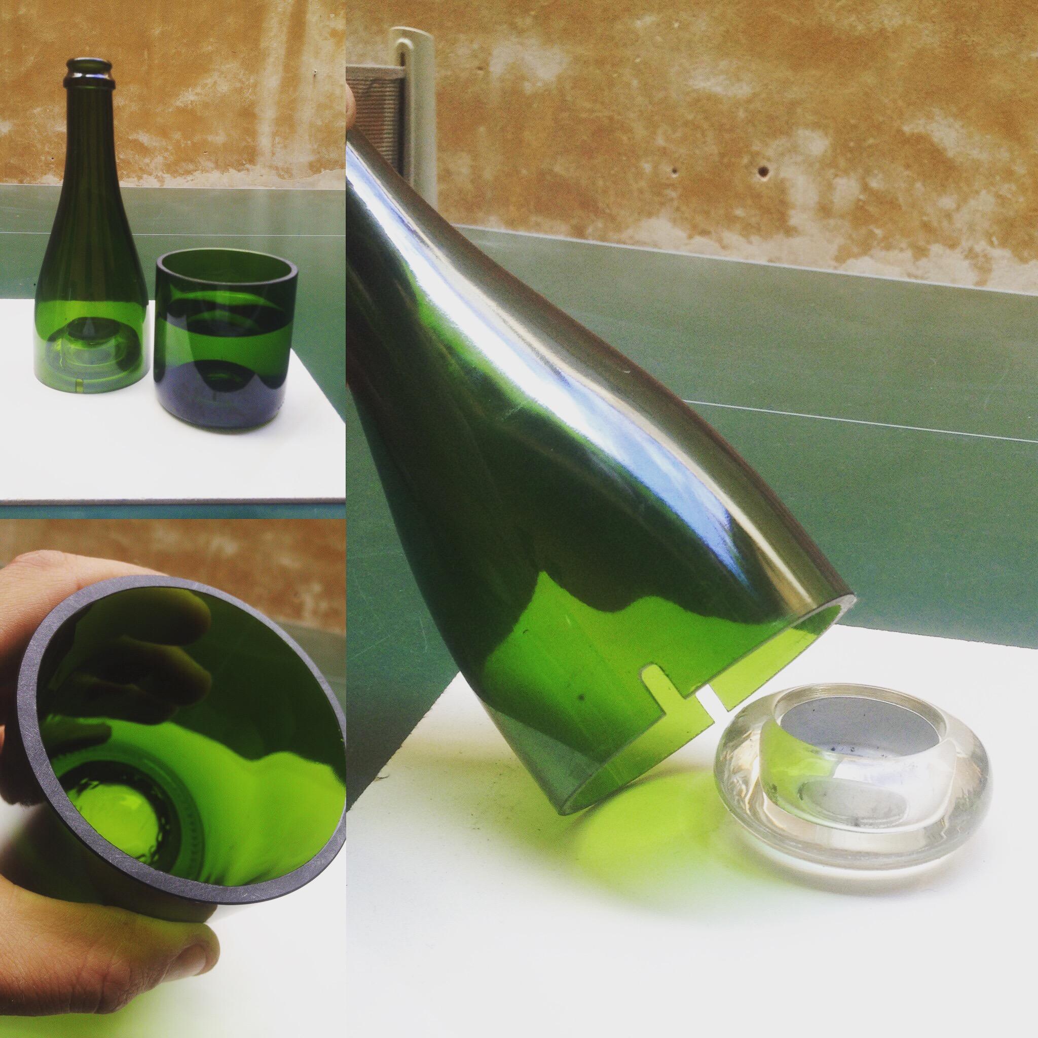 Bicchiere e Copricandela