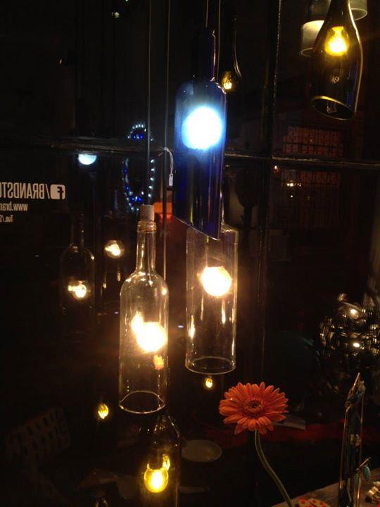 Lampade bottiglia a sospensione