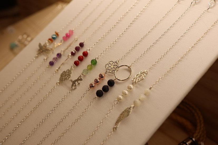 Bracelet DALIA et chaine