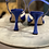 Thumbnail: Slingback Vanity Blue Elettrico 90