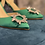 Thumbnail: Sling back Cinderella Verde Smerarlo