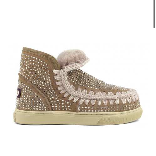 Mou Eskimo Sneakers con borchie in strass