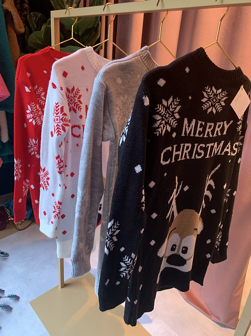 Maglione Renna Merry Christmas