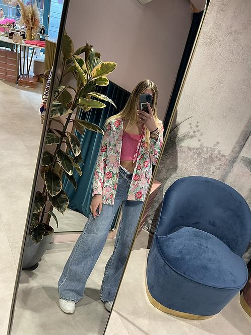 Jeans vita risvoltati