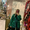 Thumbnail: Cardigan fatansoa maxulato Verde e blue