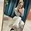 Thumbnail: Jeans frange bianco