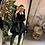 Thumbnail: Capotto lungo ecopelle pelliccia