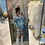 Thumbnail: Satin Tie-Dye skirt