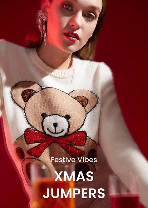 Maglione Orso Natale