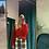 Thumbnail: Pantaloni in check con staffa