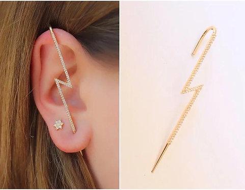 Ear cuff fulmine