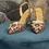 Thumbnail: Sling back Cinderella Verde GLITTER MULTICOLOR