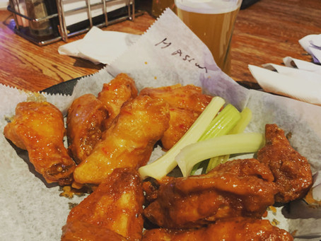 Wing Review: On the Clock Bar & Grill