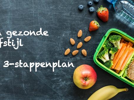 Een gezonde leefstijl – hét 3-stappenplan