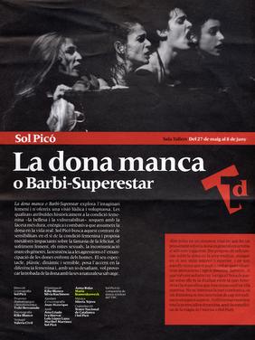 La Donna Manca, National Theater of Cataluña, Barcelona