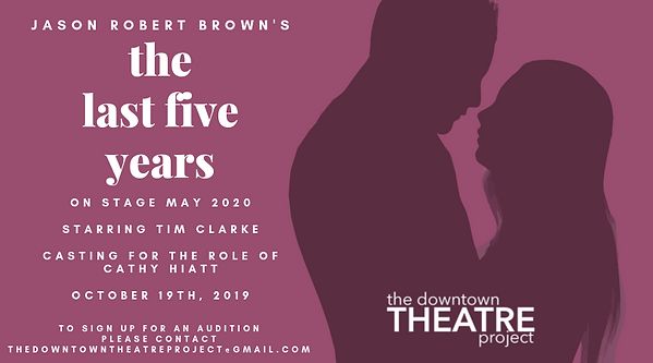 On stage May 2020 Starring Tim clarke Ca
