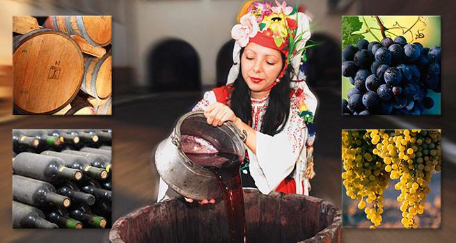 Праздник виноградарей - Трифан нарезан