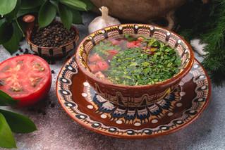 Телешко варено - домашний суп из телятины с картофелем.