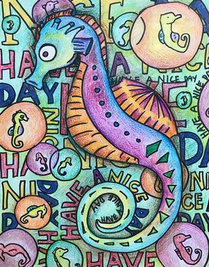 Father Seahorse
