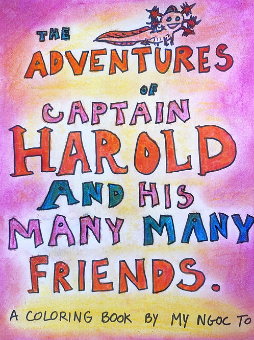 The Adventures of Captain Harold Coloring Book