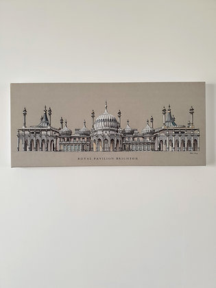 Royal Pavilion Brighton Large Wall Canvas