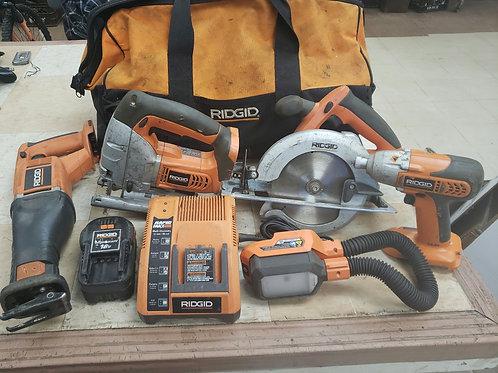 Ridgid Tool Package