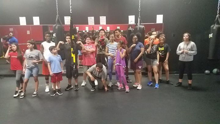 Youth Boxing Fitness Class (10-17) Lvl2