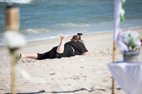 Me in the sand in Ponte Vedra, Florida/photo cred Diana Baker the best second shooter ever.