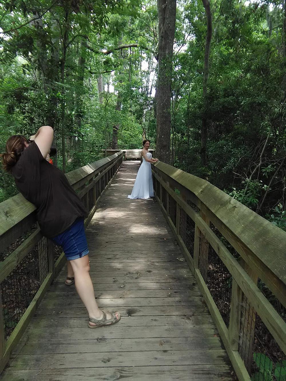 Bridal session in Jacksonville, Florida,  Photo cred Brandi Ford