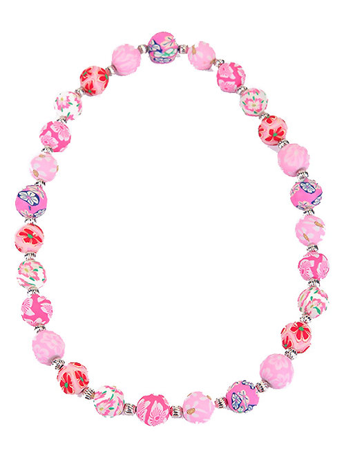 PINK BUBBLE POP NECKLACE