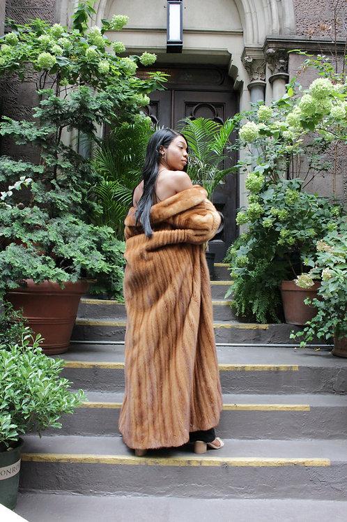 Mink Fur Coat A