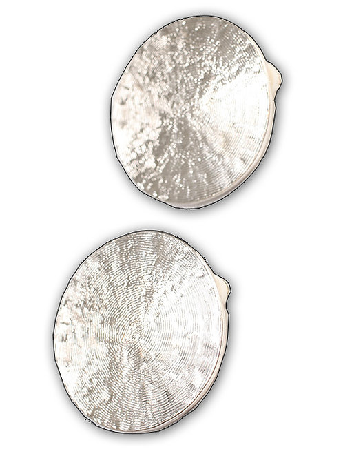 SILVERY SEMI-CIRCLES