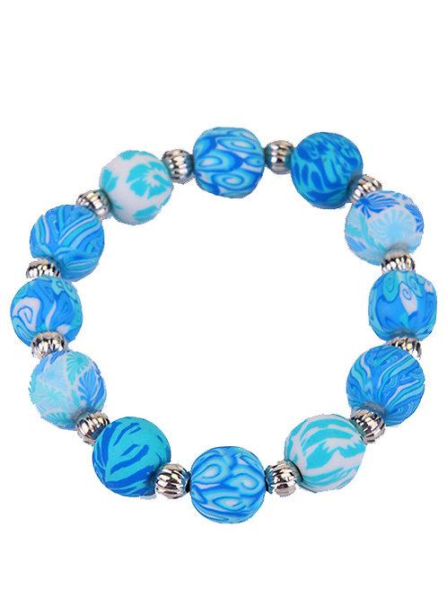BLUE BUBBLE POP BRACELET