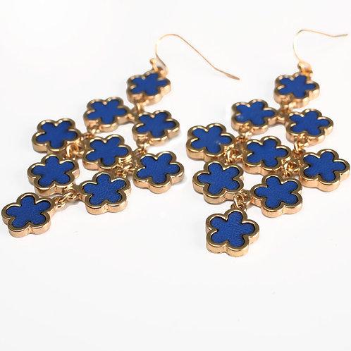 BLUE FLOWERS IN BLUE