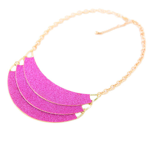 PINK SPARKLY NECKLACE