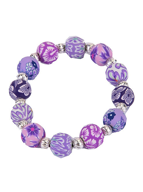 PURPLE BUBBLE POP BRACELET
