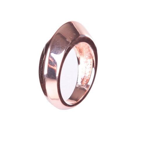 ROSE ROND METAL RING